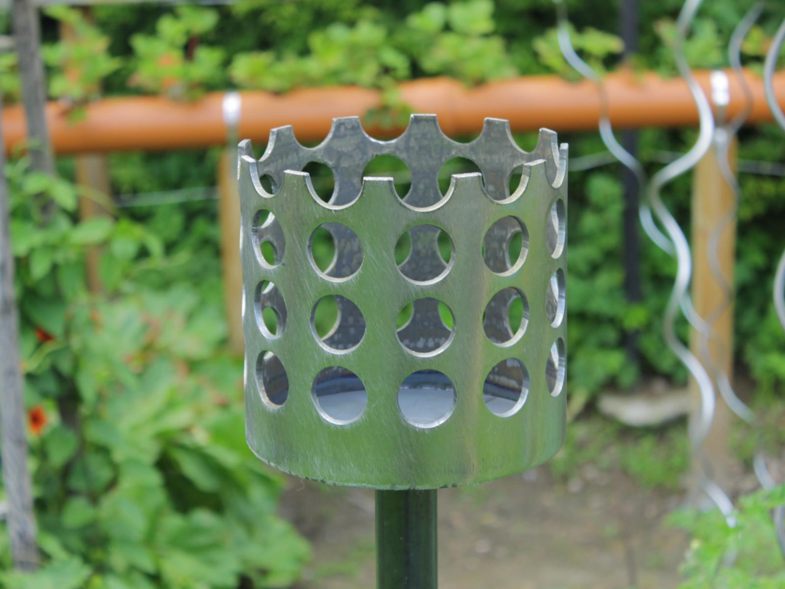 Bild Gartenfackel Kreise 168 x 155