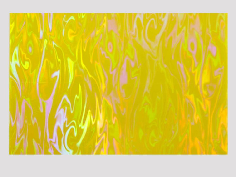 Bild Wachsplatte holografisch sonnengelb