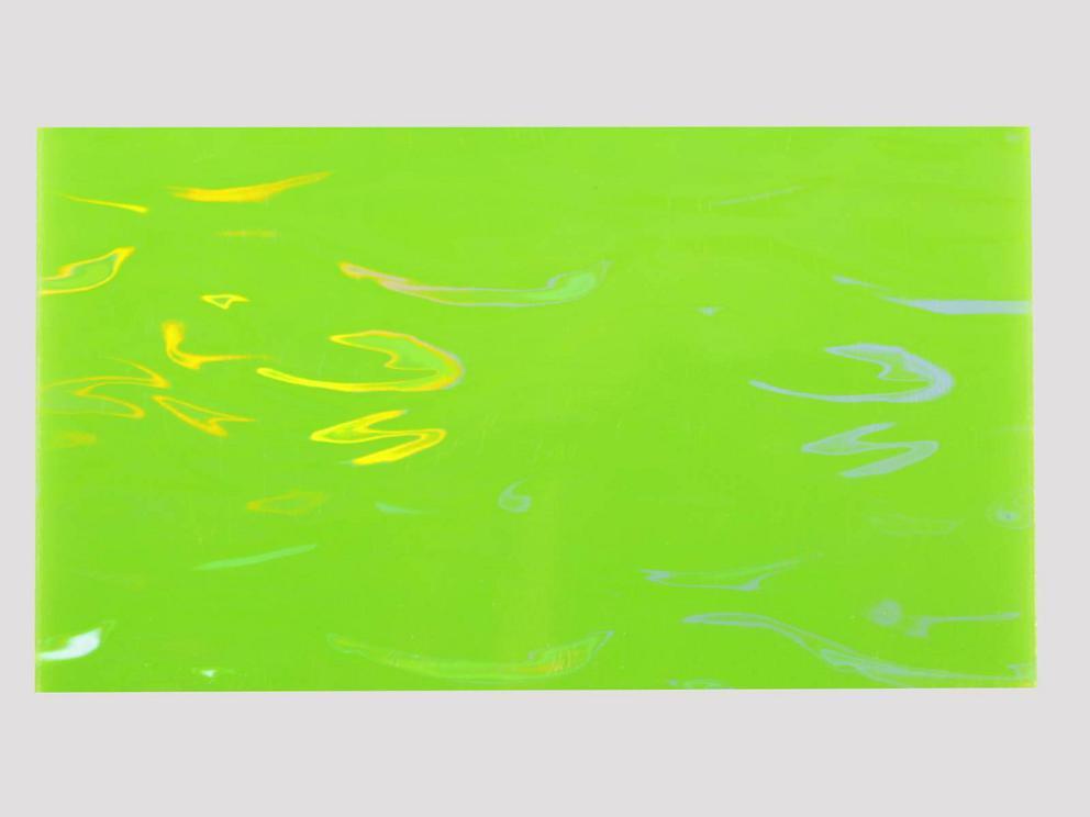 Bild Wachsplatte holografisch gelbgrün