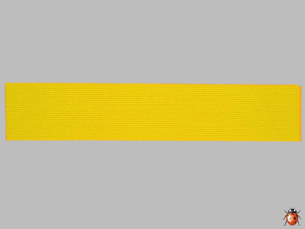Bild Wachszierstreifen 2 mm x 200 mm flach 15 Stk sonnengelb