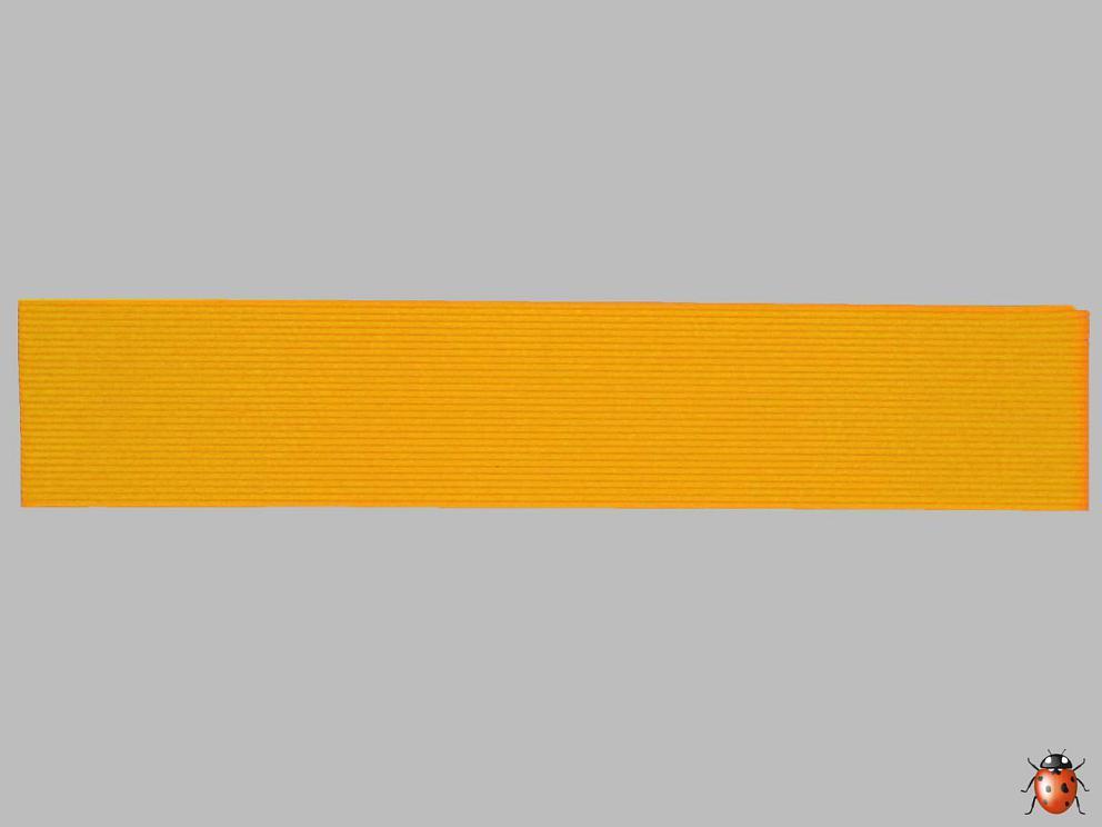 Bild Wachszierstreifen 1 mm x 200 mm 30 Stk maisgelb