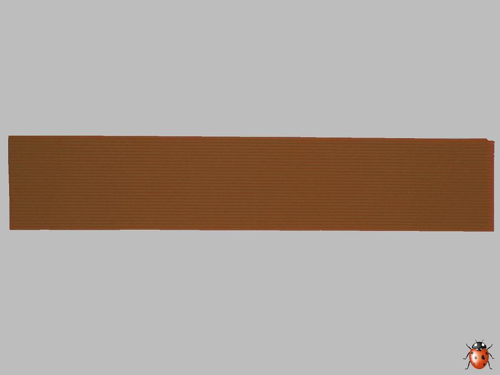 Bild Wachszierstreifen 1 mm x 200 mm 30 Stk hellbraun