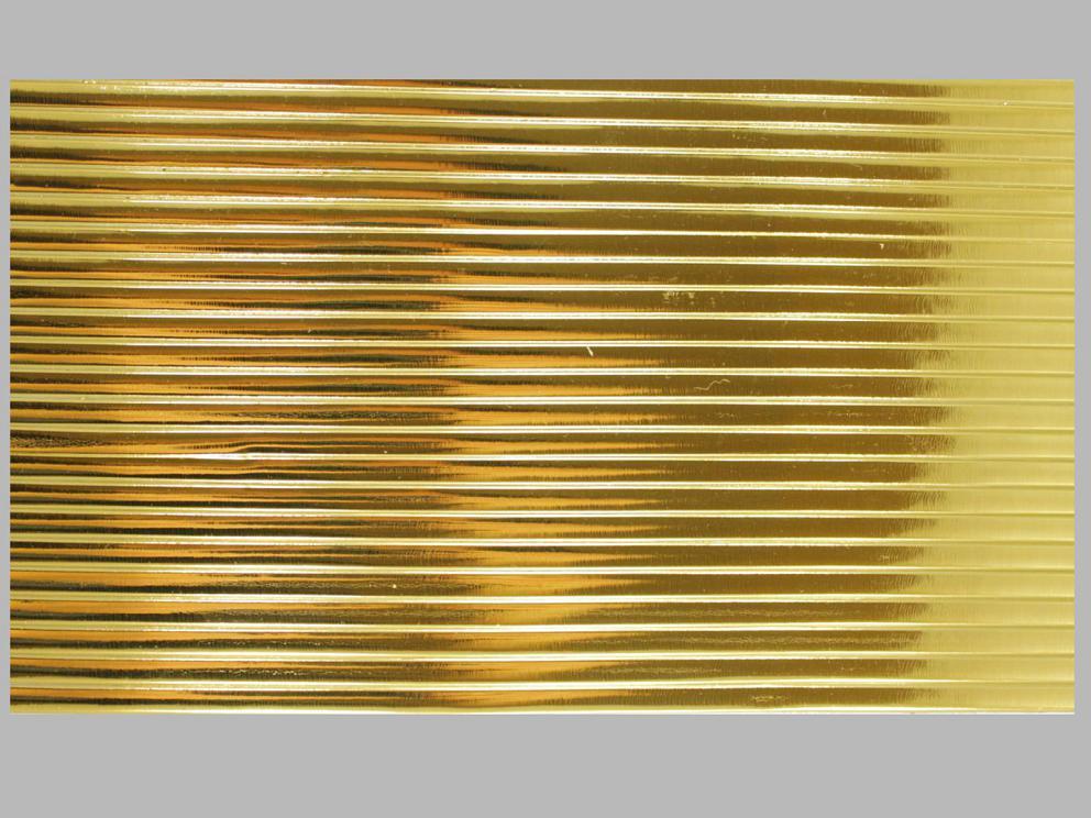 Bild Wachszierstreifen 5 mm x 200 mm flach gold glänzend 23 Stk