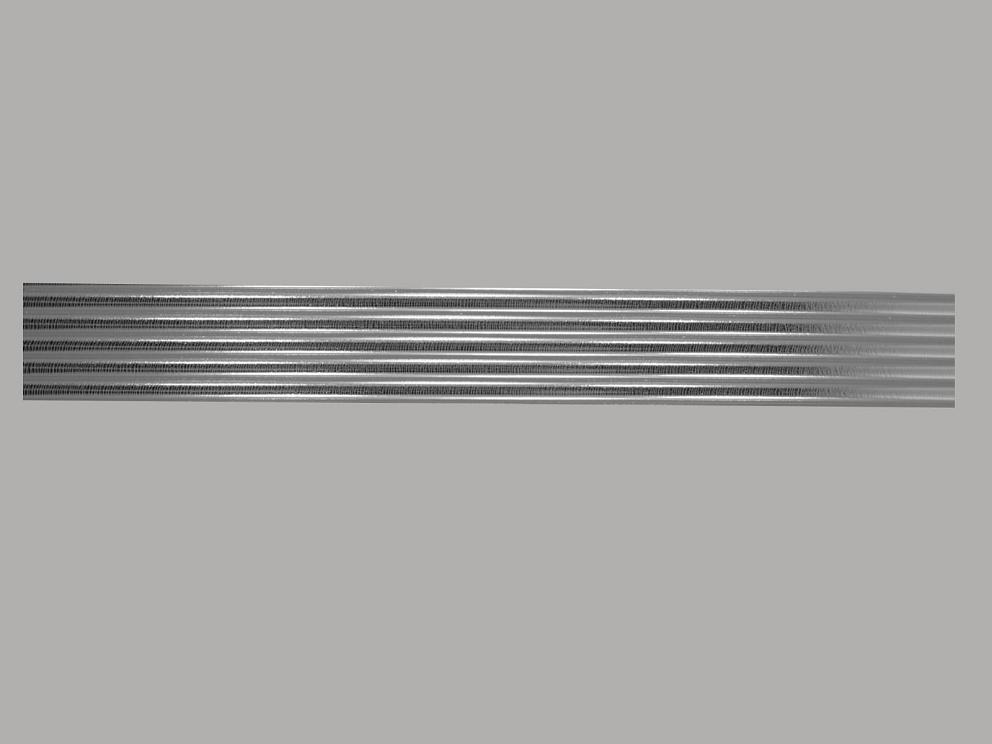 Bild Wachszierstreifen 5 mm x 200 mm rund silber glänzend 5 Stk