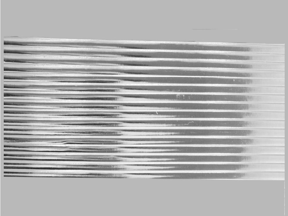 Bild Wachszierstreifen 7 mm x 200 mm flach silber glänzend 16 Stk