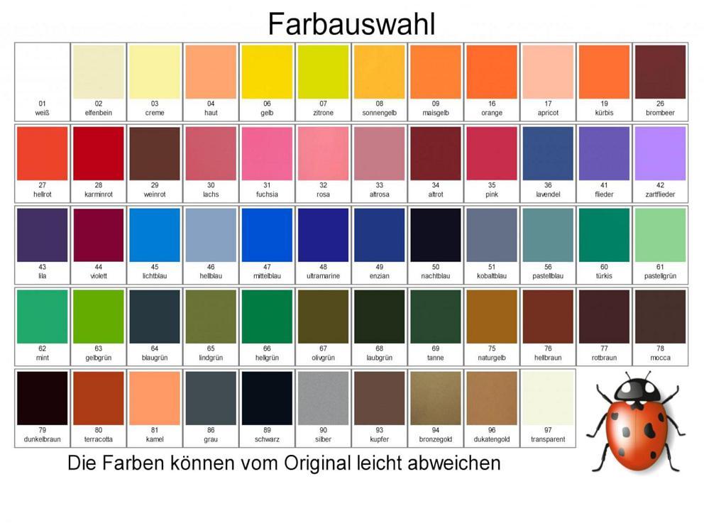 Bild Wachsplatten freie Farbauswahl
