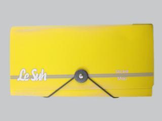 Bild Sticker Tasche gelb