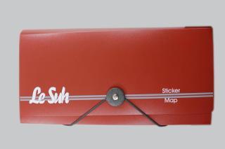 Bild Sticker Tasche rot