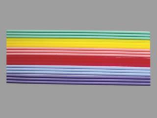 Bild Wachszierstreifenset 2 mm pastell