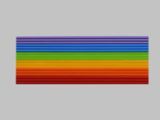 Bild Wachszierstreifenset 2 mm regenbogen