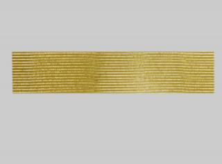 Bild Wachszierstreifen 2 mm x 200 mm rund gold glänzend 58 Stk