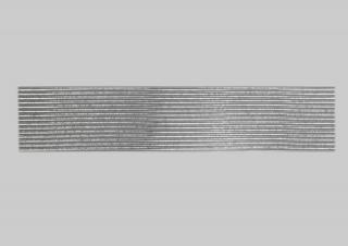 Bild Wachszierstreifen 2 mm x 200 mm rund silber glänzend 15 Stk