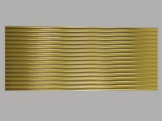 Bild Wachszierstreifen 7 mm x 200 mm rund gold glänzend 16 Stk
