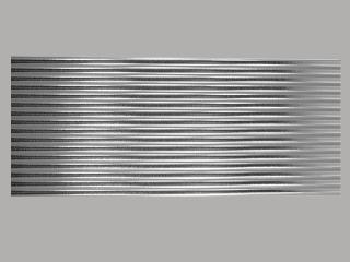 Bild Wachszierstreifen 7 mm x 200 mm rund silber glänzend 16 Stk