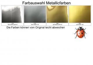 Bild Wachsplatte Gold metallic matt