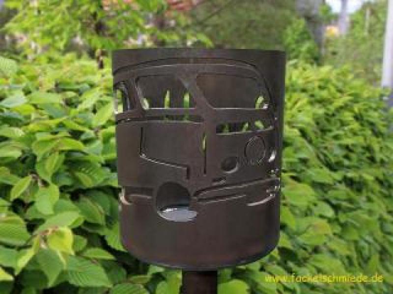 Bild Gartenfackel Bulli T2