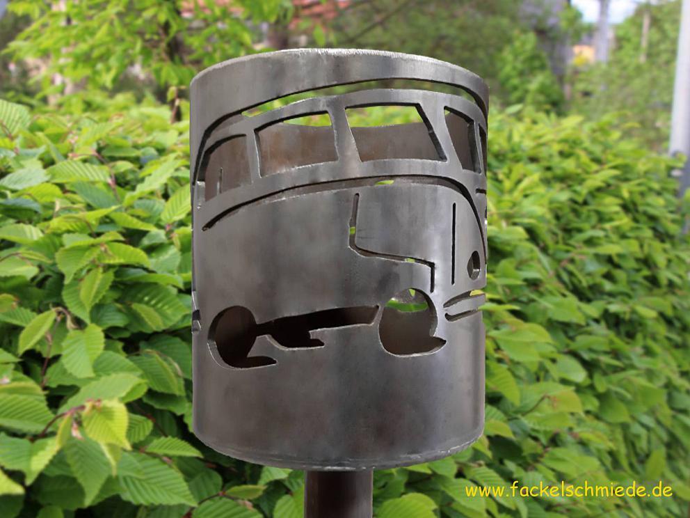 Bild Gartenfackel Bulli T1