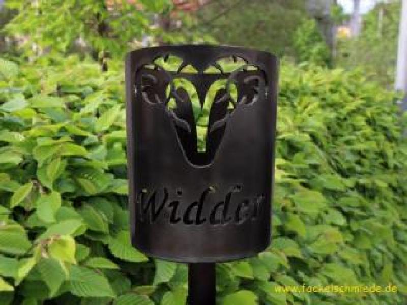 Bild Gartenfackel Sternzeichen Widder