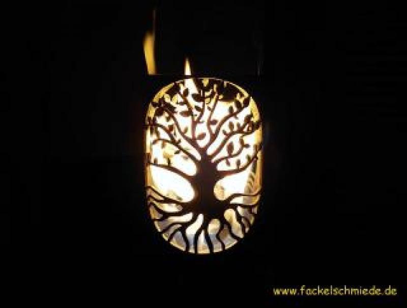 Bild Gartenfackel Lebensbaum