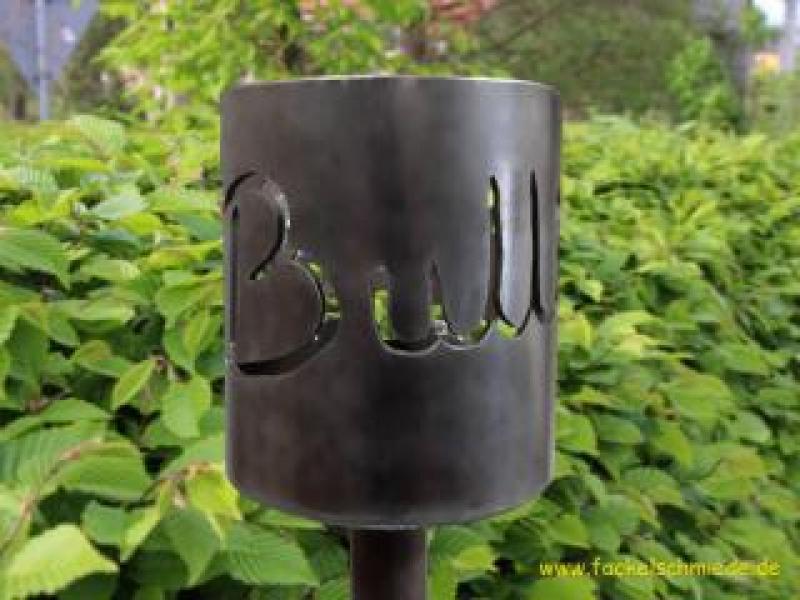 Bild Gartenfackel Bulli T4
