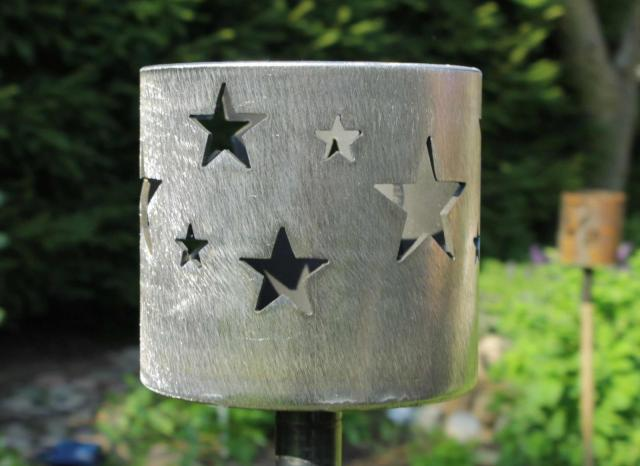 Bild Gartenfackel Sterne 168,3 x 155