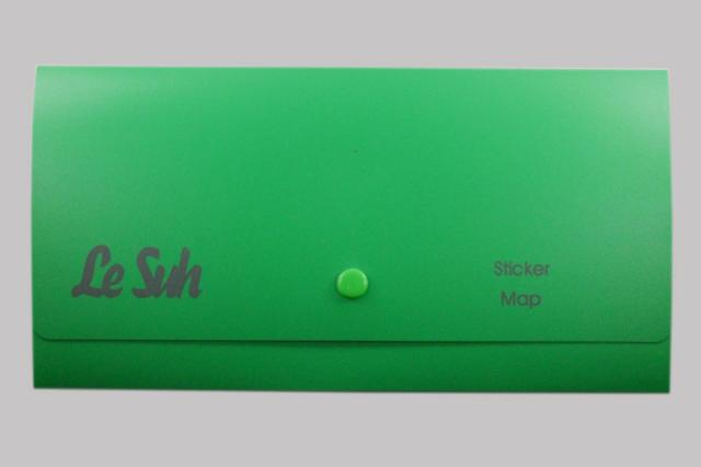 Bild Sticker Tasche grün