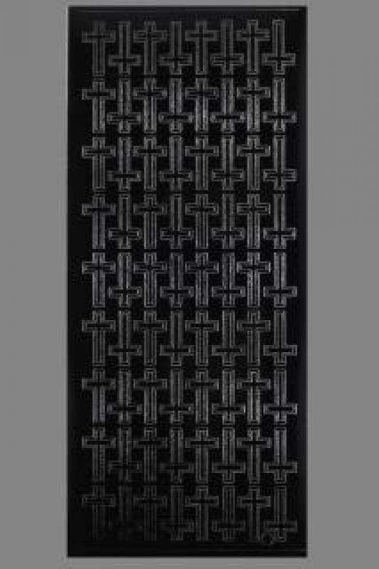 Bild Aufkleber Kreuze schwarz Starform 882