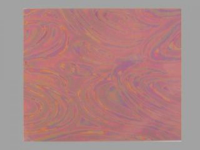Bild Wachsplatte irisierend apricot 200x100x0,5