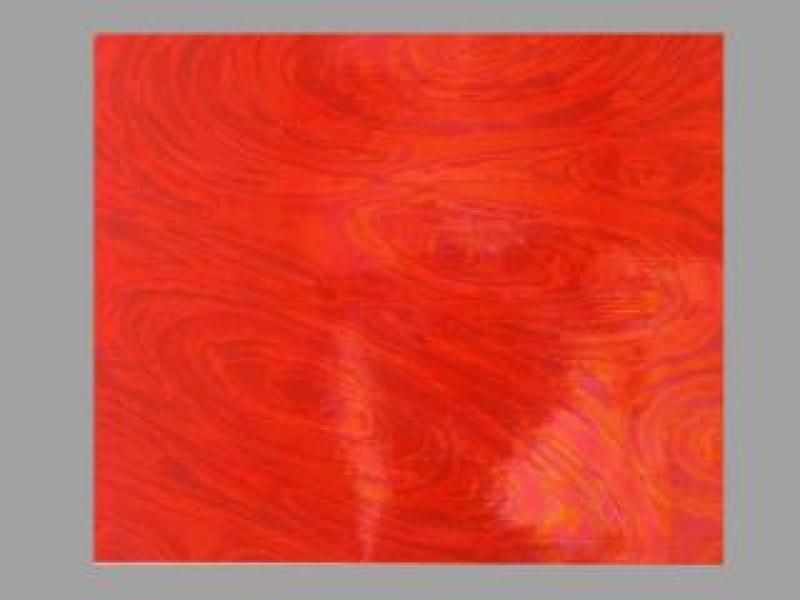 Bild Wachsplatte irisierend hellrot 200x100x0,5