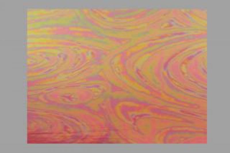 Bild Wachsplatte irisierend violett 200x100x0,5