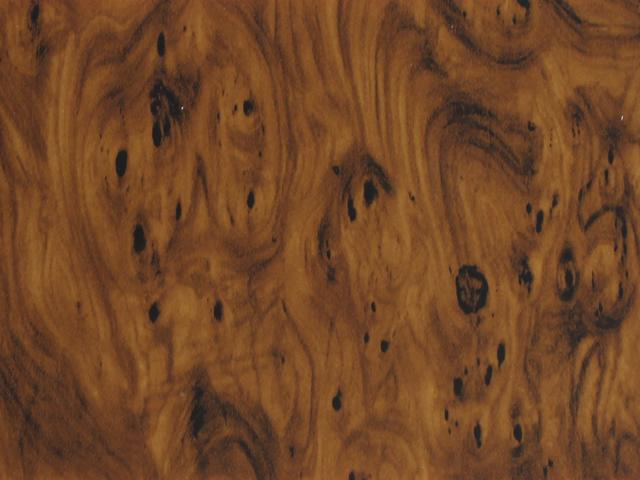 Bild 1 Wachsplatte Holzoptik dunkel