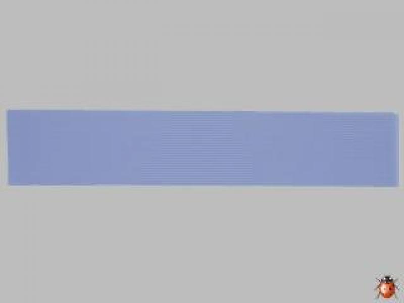 Bild Wachszierstreifen 1 mm x 200 mm 30 Stk hellblau