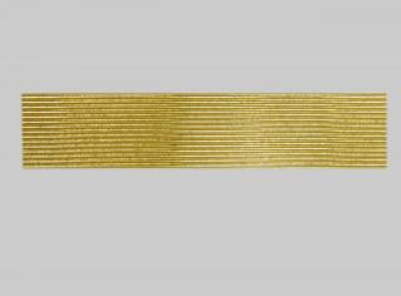 Bild Wachszierstreifen 2 mm x 200 mm rund gold glänzend 15 Stk