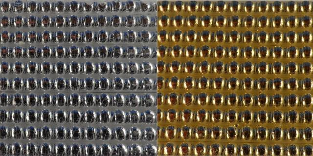 Bild Wachszierstreifen 2 mm x 200 mm Perlen silber glänzend 15 Stk