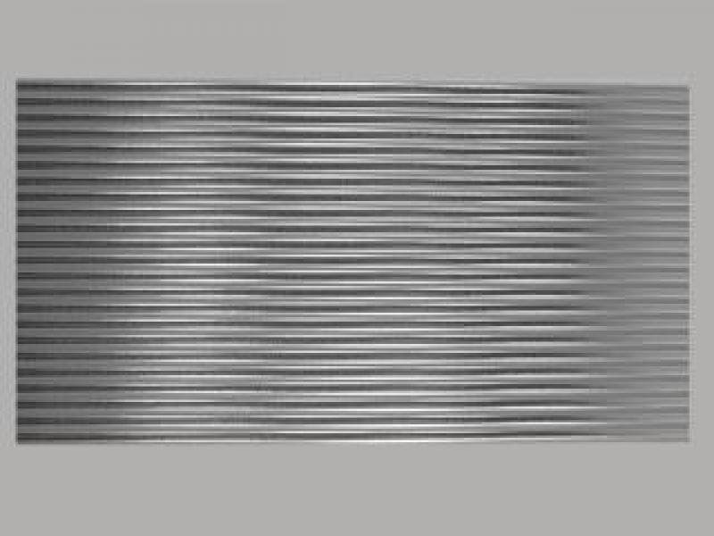 Bild Wachszierstreifen 5 mm x 200 mm rund silber glänzend 23 Stk