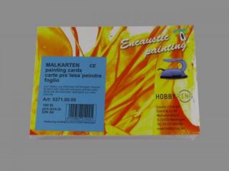 Bild Malkarten DIN A6 Encaustic 100 Stk.